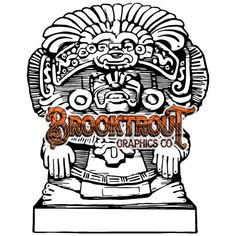 Aztec Idol by BrooktroutGraphicsCo on Etsy