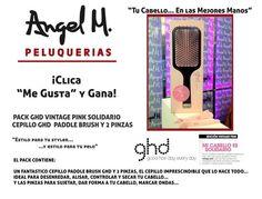 """""""Clica y Gana""""  Un elegante PACK GHD VINTAGE PINK SOLIDARIO"""