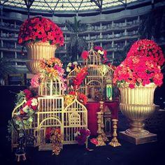 Everyone love flowers! Dreamz Kraft, Mumbai #indian #wedding #groom #bride #india #dress #decoration #decor