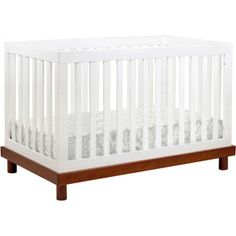 If we didn't already have a crib!  Baby Mod - Olivia 3-in-1 Baby Crib, Amber and White