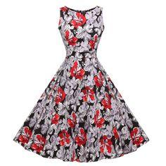 98d9cb4009 38 Best 1950s Dress (audrey hepburn dress )--VINTAGEPOST images ...