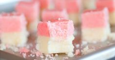 The healthy coconut ice squares you can make with 4 ingredients and a blender #news #alternativenews