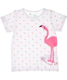 Name It adorable flamingo printed baby Tee