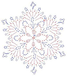 New Ideas For Crochet Christmas Ornaments Patterns Angels Crochet Happy New Year Crochet Snowflake Pattern, Crochet Motifs, Crochet Snowflakes, Crochet Diagram, Doily Patterns, Thread Crochet, Crochet Patterns, Crochet Ideas, Knitting Patterns
