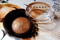 LORAC TANtalizer Baked Bronzer is compact a perfect for a those on the go!