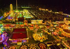 Nottingham Goose Fair - UK. Where I had my first date with my now ex husband (my son's Dad) x
