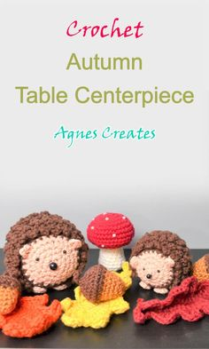 Beginner Crochet, Crochet For Beginners, Learn To Crochet, Free Crochet, Afghan Crochet Patterns, Knitting Patterns, Autumn Crochet, Fall Table Centerpieces, Halloween Crochet Patterns