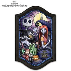 Disney The Nightmare Before Christmas Wall Decor