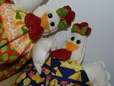 Patchwork - as galinhas