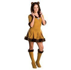 Tween Wizard of Oz - Cowardly Lion Costume