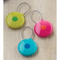 Handbag/Keychain Flashlight - Easily see what's at the bottom of your handbag.