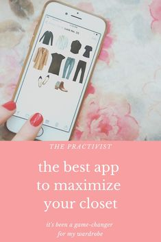 I've decided to let you all in on my secret weapon for closet organization. I recommend this app to my friends all the time, so I figured it was time to give it a post of its own! Meet your closet's new (very organized) best friend
