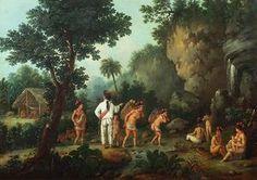 The Slave Hunter - (Jean Baptiste Debret)