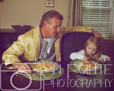 Father/Daughter On Pointe Photography  Family Picture