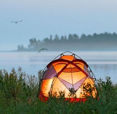 Wilderness State Park Campground: Many of the 250 modern sites have the most dramatic water views of any campground in Michigan. Details: http://www.midwestliving.com/travel/around-the-region/24-best-midwest-campgrounds/?page=8