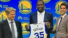 #NBA: Kevin Durant no quiere ser el máximo protagonista en los Warriors