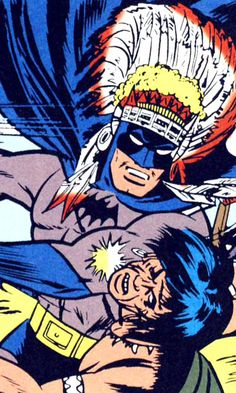 """Holy Headdress Batman!"""