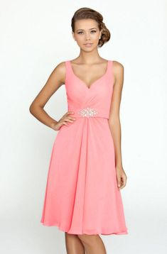 5eaf7a6ad20 Bridesmaid V-neck Formal Chiffon Short Prom Party Ball Evening Dresses Size  6-18