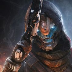 What do you think about the Activision & Bungie split? Poster By Joseph Biwald Destiny Cayde 6, Destiny Comic, Destiny Hunter, Destiny Bungie, Personalised Canvas, Dnd Characters, Video Game Art, Canvas Pictures, Anime Comics