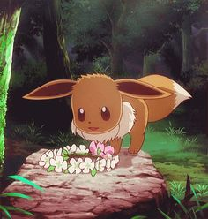 Yes I want this cute Evee but with more sass, confidence, sarcastic, and funny…