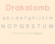 Fresh Free Font Of The Day : Drakolomb