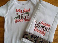 Hunting Baby Boy Set