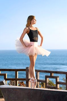 In love with this pic of Keenan Kampa in a classic pink tutu on the beaches of Laguna in California!
