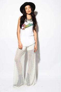 Seraphina Crochet Pant- FINAL SALE