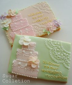 Invitation Sugar Cookie
