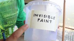 Invisible Paint By Artist Aman