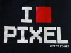 I love pixel from Florent Solt | #graphisme #pixel #design