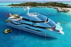 Follow the Sun, le catamaran au design automobile