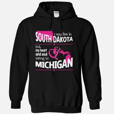 Live in a MICHIGAN Belong to a #SOUTH DAKOTA World, Order HERE ==> https://www.sunfrog.com/Names/Live-in-a-MICHIGAN-Belong-to-a-SOUTH-DAKOTA-World-Black-Hoodie.html?6789, Please tag & share with your friends who would love it , #christmasgifts #renegadelife #jeepsafari  #south dakota hiking, south dakota camping, mount rushmore south dakota  #posters #kids #parenting #men #outdoors #photography #products #quotes