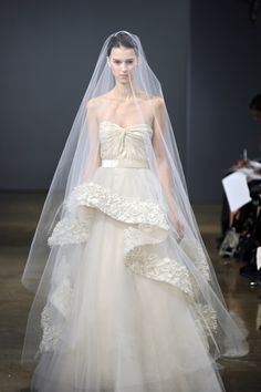 Monique Lhuillier wedding gown spring 2013