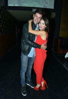 Presentación en el canal Trece de Esperanza Mia. Mariano Martinez y Mariana Esposito