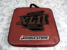 Sold NFL 2008 Super Bowl XLII Stadium Seat Cushion NY Giants NE Patriots