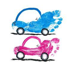 Footprint cars!