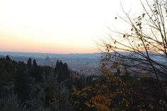 The Duomo from the European University Institute in November
