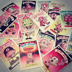 Japanese Edition Melty Misfits by Buff Monster for #NYCC 2012 @sidekicklabs booth