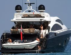 It Only Takes A Minute to be jealous: Gary Barlow puckers up with wife Dawn on family cruise with Jason Donovan's brood Gary Barlow, Family Cruise, Saint Tropez, Luxury Life, Dawn, Scrapbook, Holiday, Blue Skies, Luxembourg