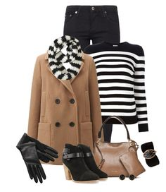 Stripes, please. by fashionista88 on Polyvore featuring polyvore, fashion, style, Yves Saint Laurent, Uniqlo, AG Adriano Goldschmied, rag & bone, Calvin Klein, Valentino, 14th & Union, Aéropostale, Lanvin and clothing