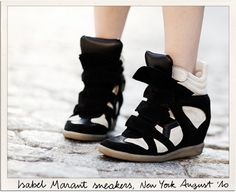 La Basket Beckett - d'Isabel Marant (item 5 on top 10 hottest in France right now)