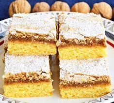 Krispie Treats, Rice Krispies, Delicious Deserts, Romanian Food, Vanilla Cake, Cake Recipes, Gem, Baking, Desserts