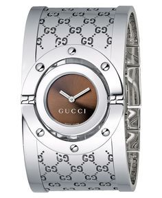 Shop Gucci Watches for Him and For Her at Helzberg Diamonds. House of Gucci is the eponymous Italian luxury brand featured at Helzberg Diamonds. Gucci Bracelet, Bangle Bracelets, Bracelet Watch, Gucci Watches For Men, Fine Watches, Women's Watches, Cartier, Gucci Monogram, Silver Bangles