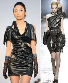 Garbage Bag Gowns : MISE A SAC Collection