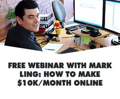 Free affiliate training webinar shows exact 3 Step Process Used To Build A 5 Figure A Month online business In the next 30 Days Marketing Guru, Marketing Program, Business Marketing, Affiliate Marketing, Internet Marketing, Online Marketing, Online Business, Affiliate Websites, Content Marketing