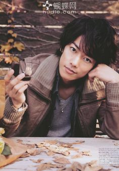 Sato Takeru. COME ON THIS IS GETTING RIDICULOUS JAPAN. STOP WITH THE CUTE GUYS!!!