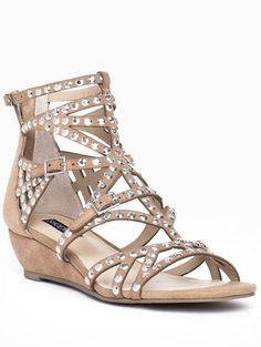 Nude Cutout Sandals ♥