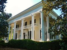 "Bellevue is the historic home of senator Benjamin Harvey Hill in LaGrange, Georgia, built from 1853–1855.  Bellevue is a significant example of the ""domesticated temple"" form of the Greek Revival style at the height of antebellum Southern affluence."