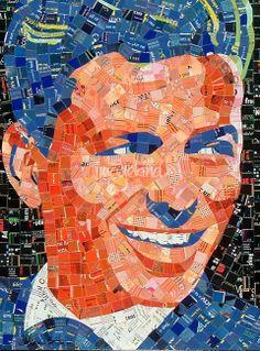 Frank Sinatra by Sandhi Schimmel Gold